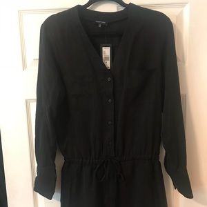 ✨Kenneth Cole long sleeve romper